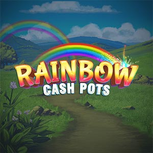 Inspired rainbow cash pots