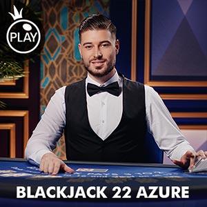 Pragmatic blackjack 22 azure